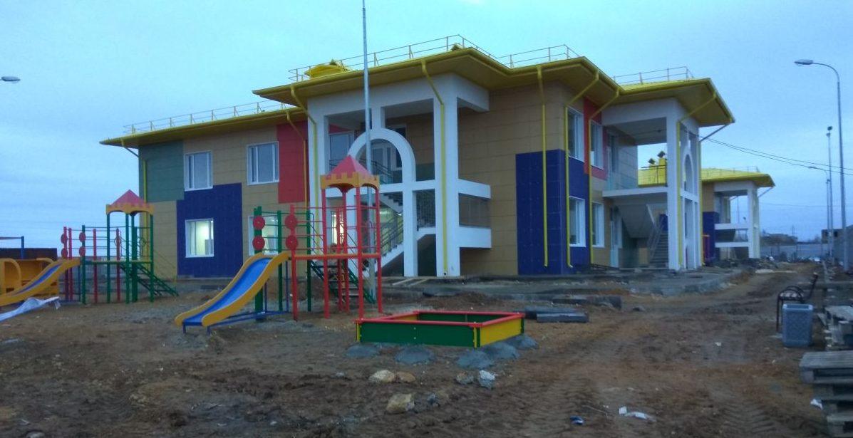 Сотрудники Дирекции проинспектировали строящиеся по ФЦП детские садики в г. Саки и Сакском районе