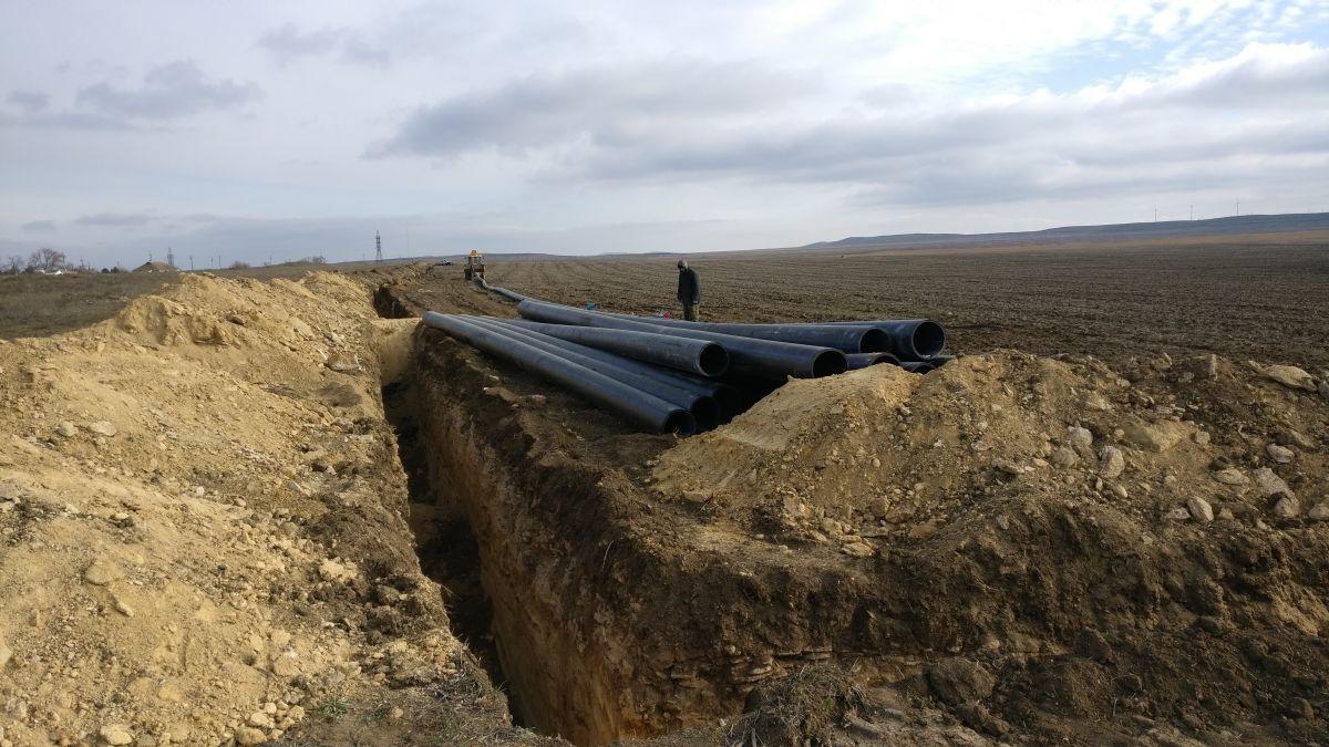 Сотрудники Дирекции проинспектировали ход реализации мероприятий по водообеспечению Восточного Крыма