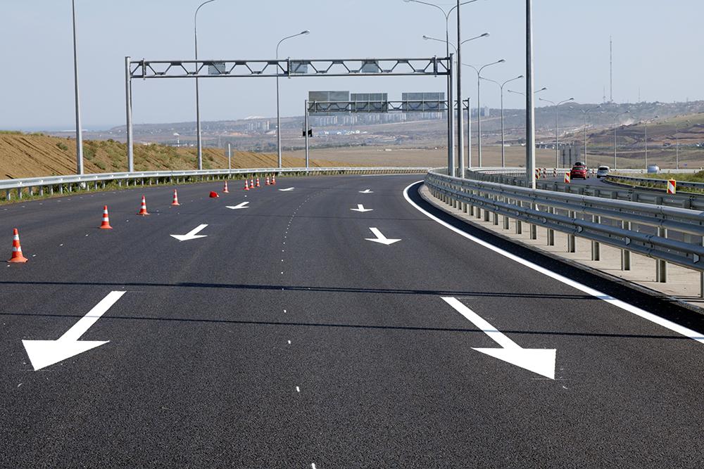 """Релиз АО """"ВАД"""": """"Ограничения в движении транспорта по керченскому автоподходу к Крымскому мосту будут сняты в воскресенье"""""""