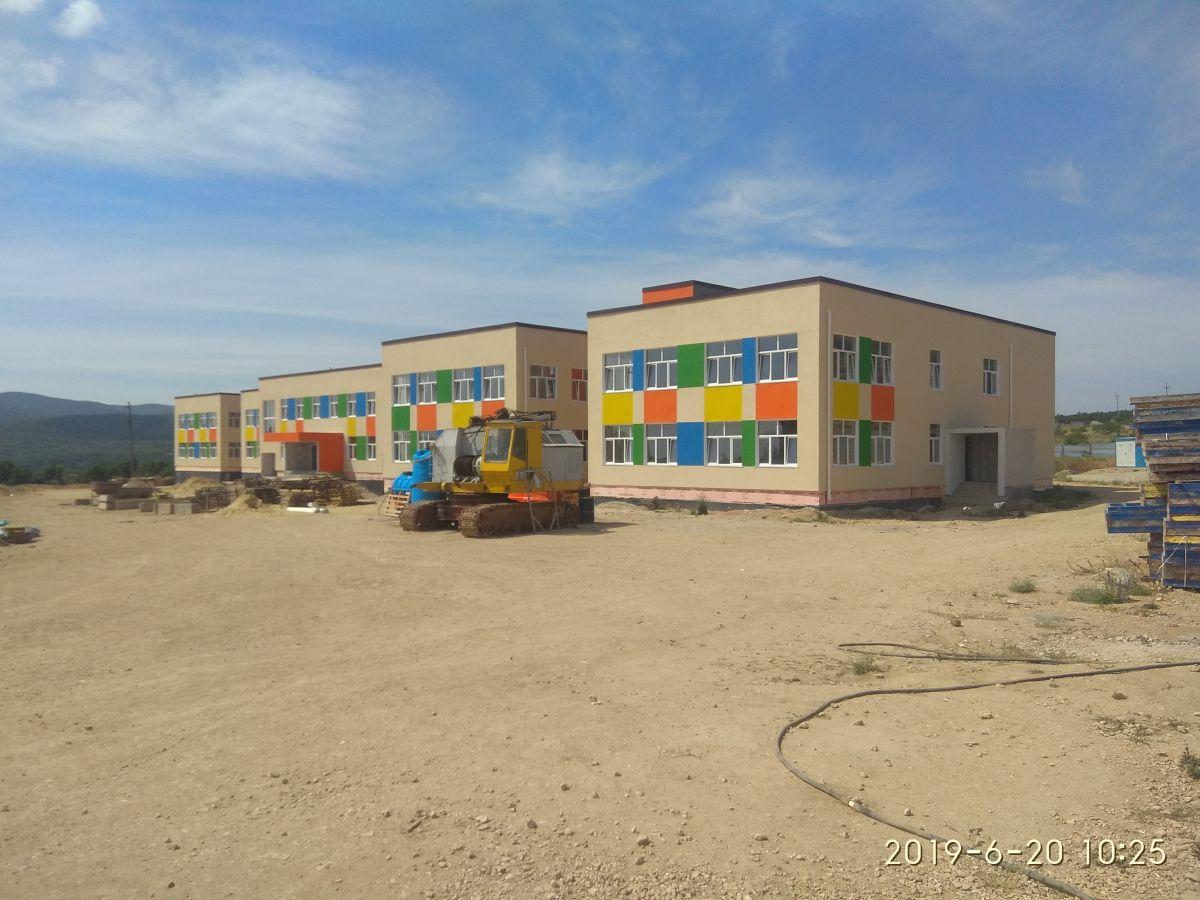 Сотрудники Дирекции проинспектировали строительство детского сада в г. Старый Крым