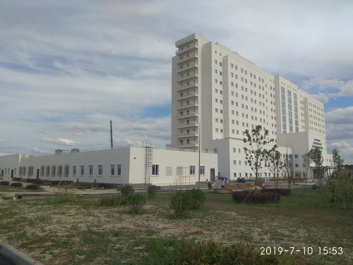 Сотрудники Дирекции проинспектировали ход строительства медицинского центра больницы им.Семашко