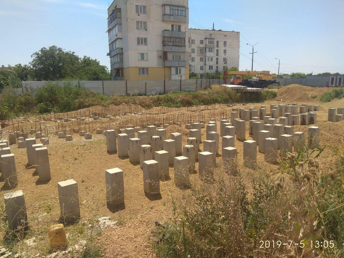 Сотрудники Дирекции проинспектировали строительство жилого дома в г. Джанкое