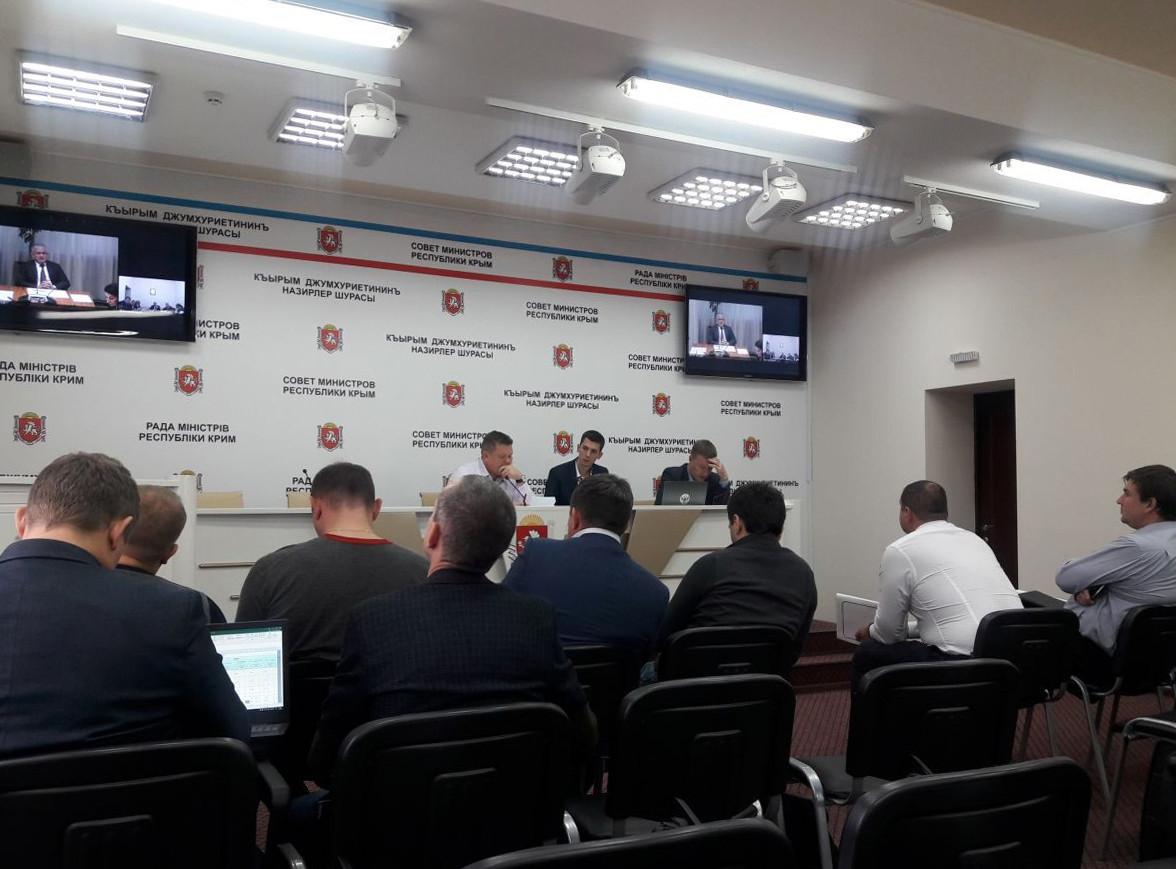 Сергей Назаров провёл еженедельное совещание в режиме ВКС по вопросам реализации ФЦП в Крыму и Севастополе
