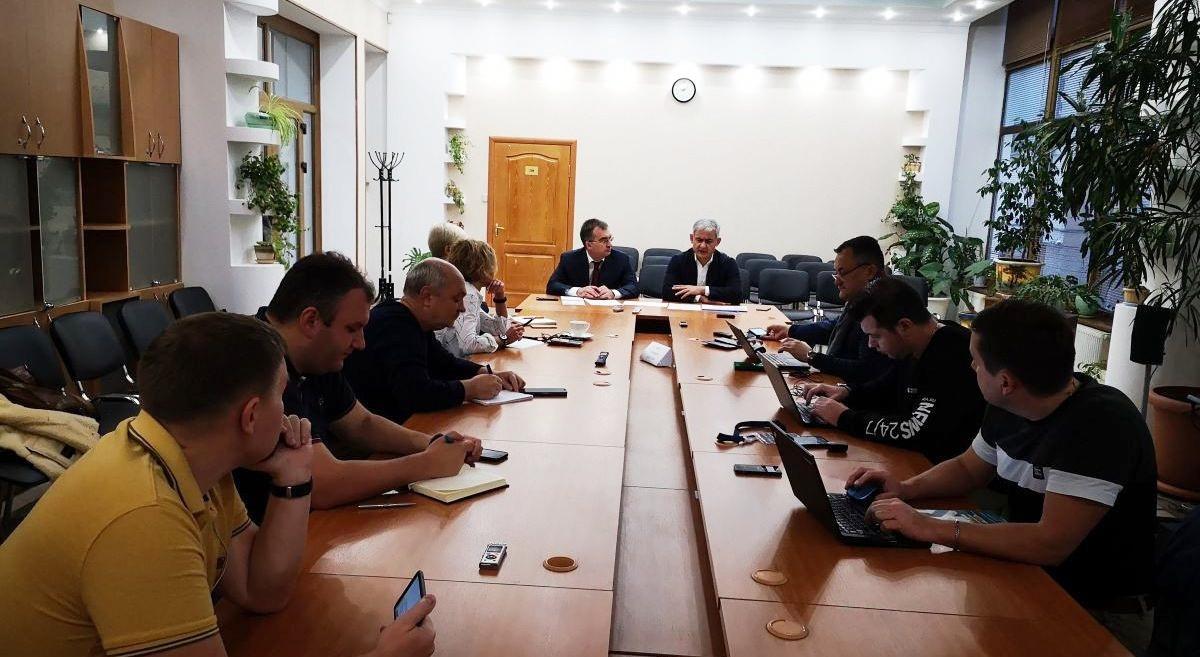 В рамках работы информационного центра ФЦП состоялась встреча Сергея Назарова со СМИ