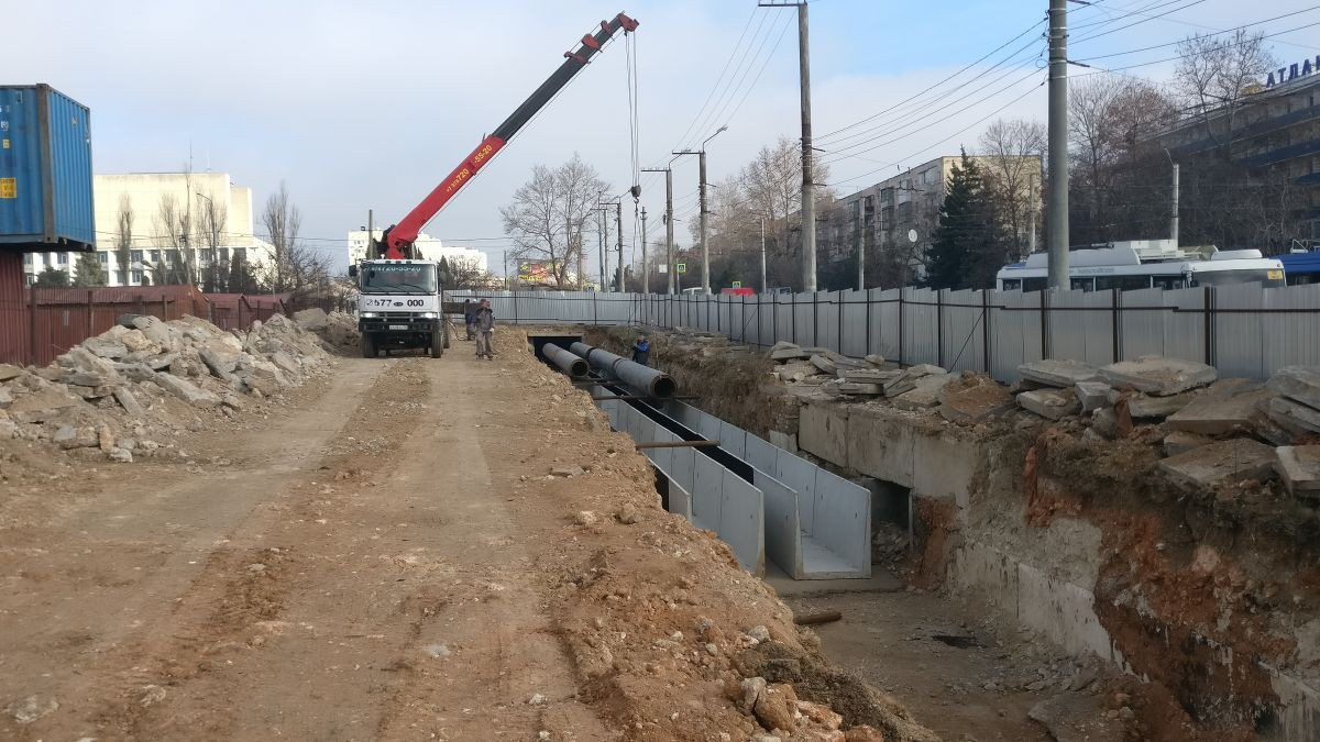 Сотрудники Дирекции проинспектировали объекты инженерной инфраструктуры в Севастополе