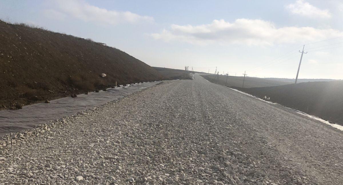Сотрудники Дирекции проинспектировали строительство дороги с.Войково — с.Курортное — оз.Чокрак