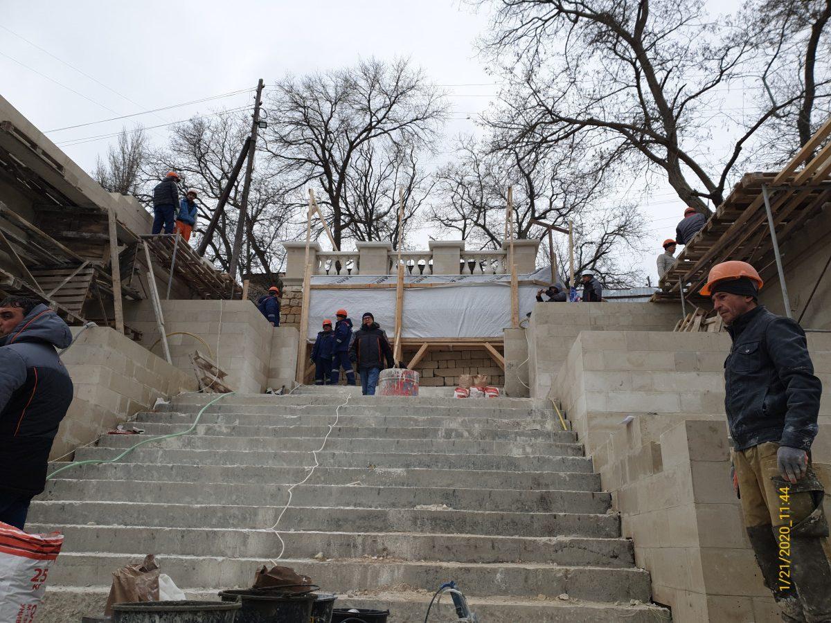 Сотрудники Дирекции проинспектировали ход работ на объектах культурного наследия в г. Керчи