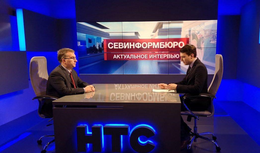 Об итогах реализации ФЦП в 2019 году в интервью Андрея Никитченко Независимому телевидению Севастополя