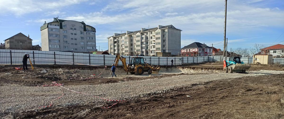 Сотрудники Дирекции проинспектировали начало строительства жилого дома в Симферополе
