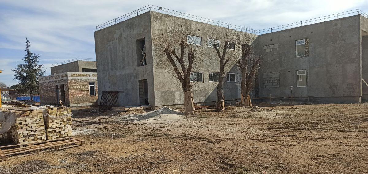 Сотрудники Дирекции проинспектировали реконструкцию детского сада в Вилино