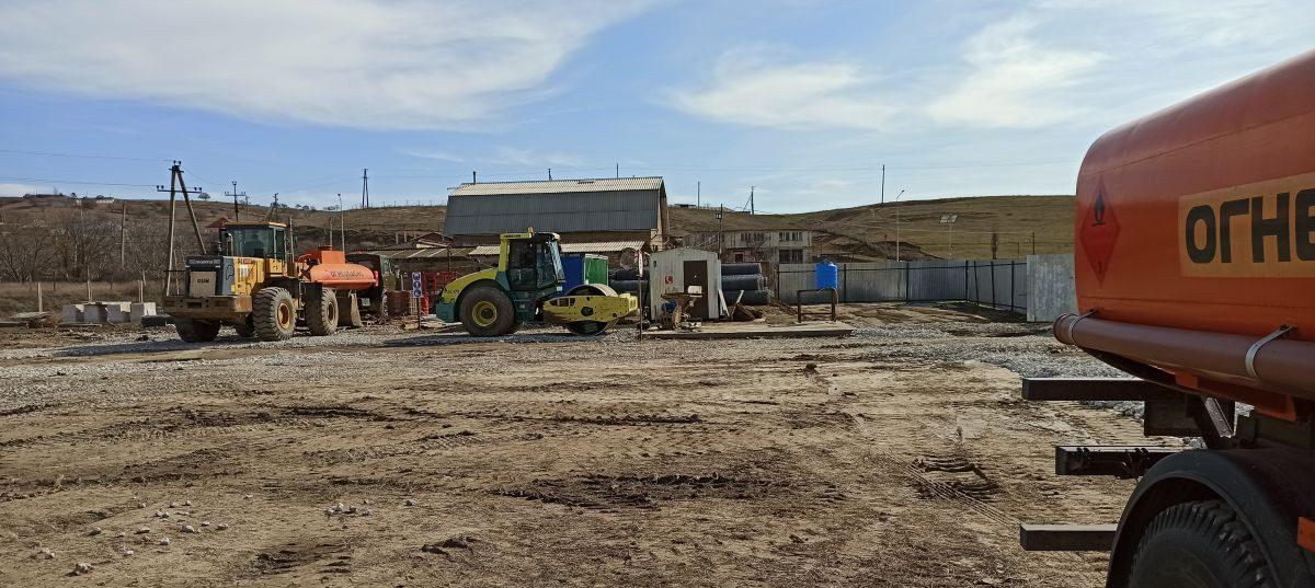 Сотрудники Дирекции проинспектировали строительство дамбы на р. Каче