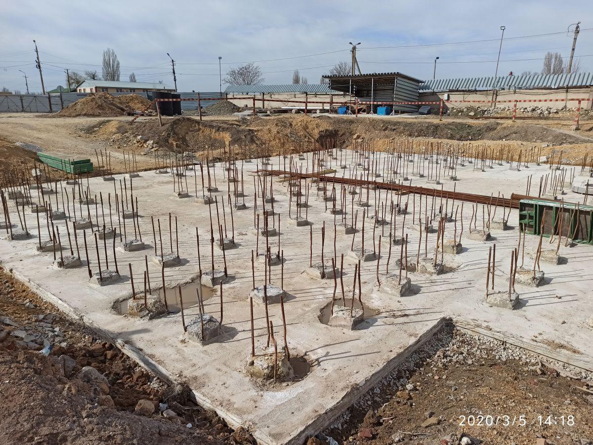 Сотрудники Дирекции проинспектировали строительство жилого дома в Джанкое