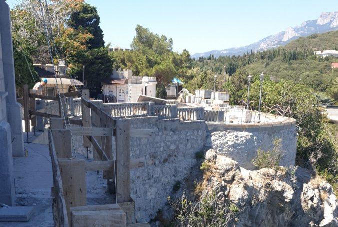 Сотрудники Дирекции проинспектировали ход работ на объектах культурного наследия Крыма