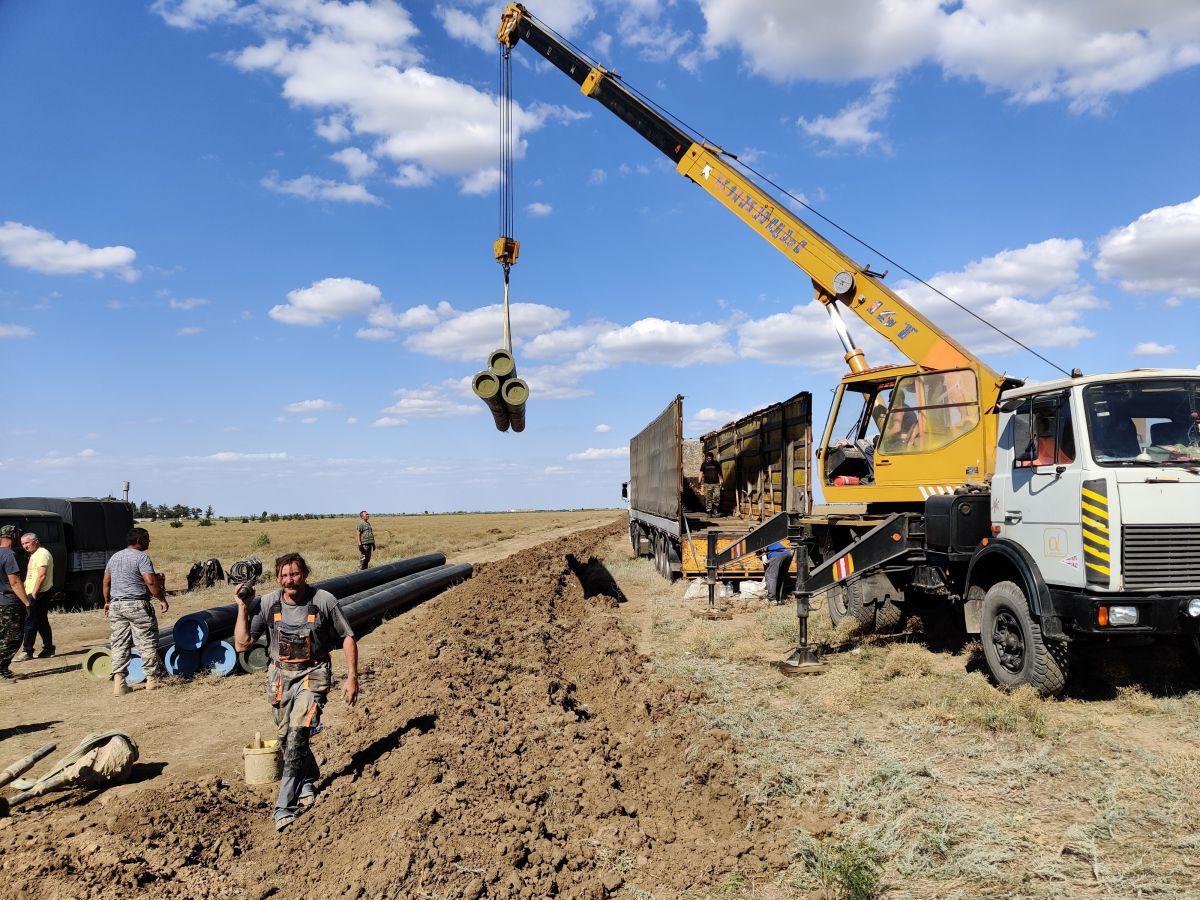 Сотрудники Дирекции проинспектировали объекты газификации Северного Крыма