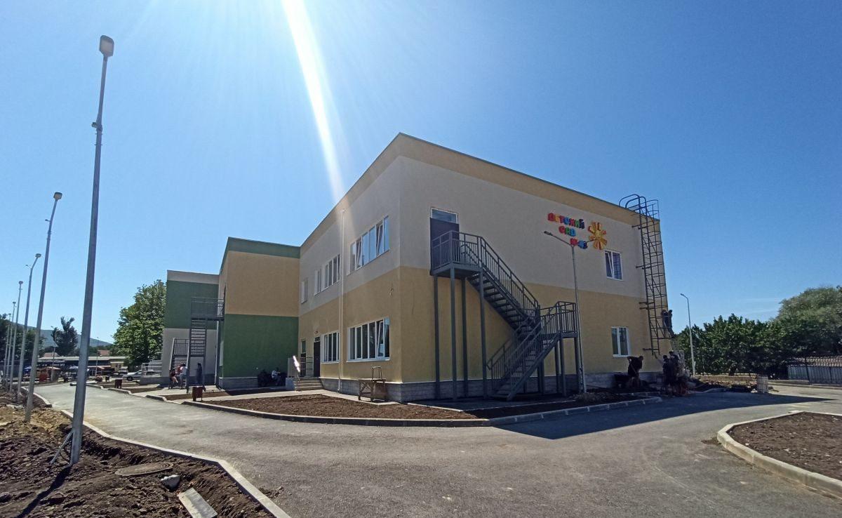 Сотрудники Дирекции проинспектировали корпус детского сада в Орлином